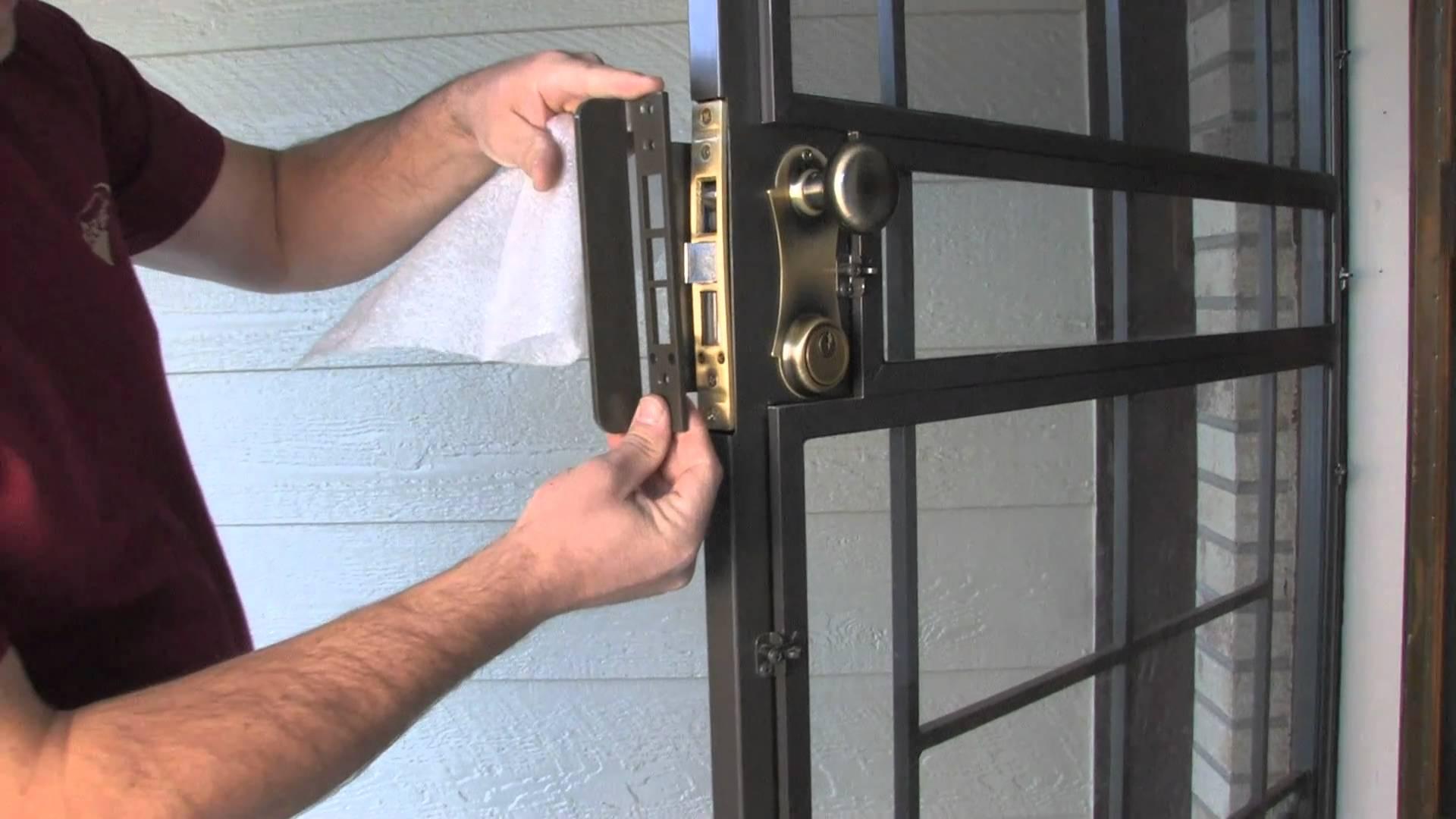 Lock Guard Armor Security Door Lock Enhancement Secure All in proportions 1920 X 1080 - Security Door Ideas